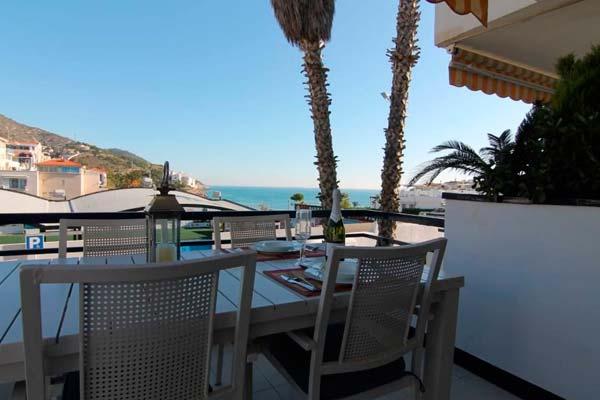 VIsta romántica en Sitges