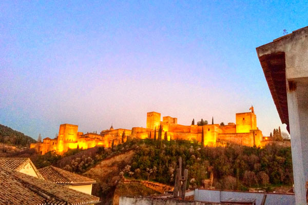fin de semana romántico en Granada